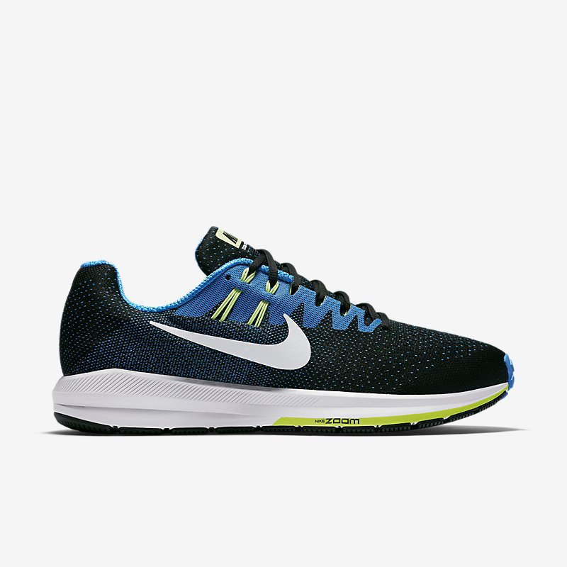 Giày Nike Air Zoom Structure 20 Nam - Xanh đen
