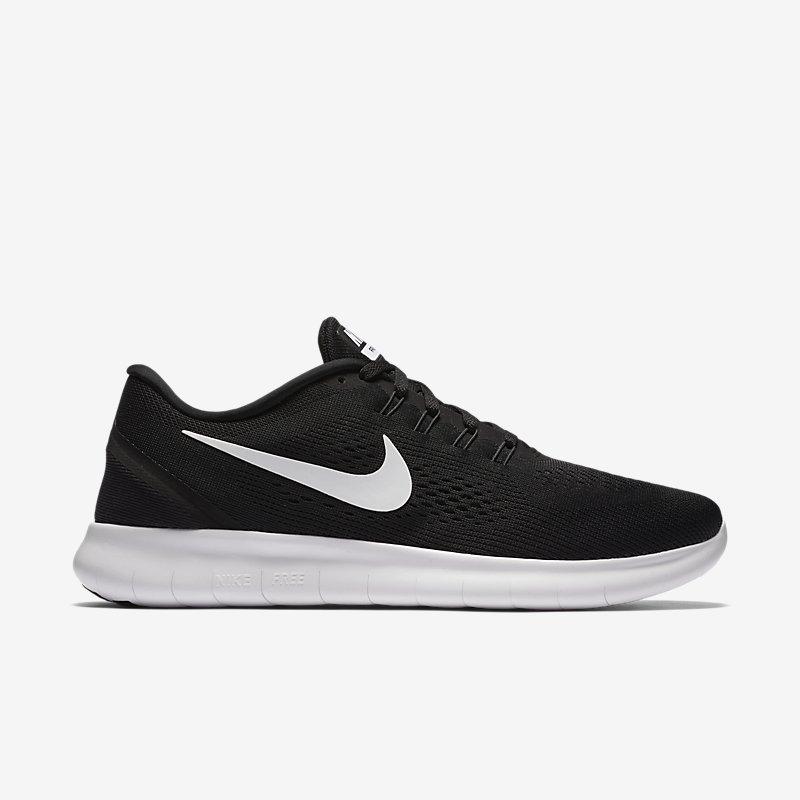 Giày Nike Free RN Nam - Đen Trắng