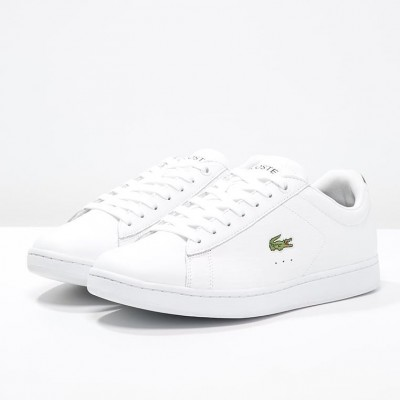 Giày Lacoste Carnaby Evo - Trắng Xanh Navy