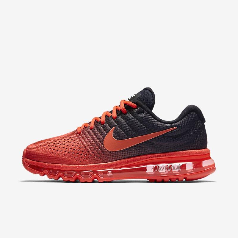 Giày Nike Air Max 2017 Nam - Đỏ Đen