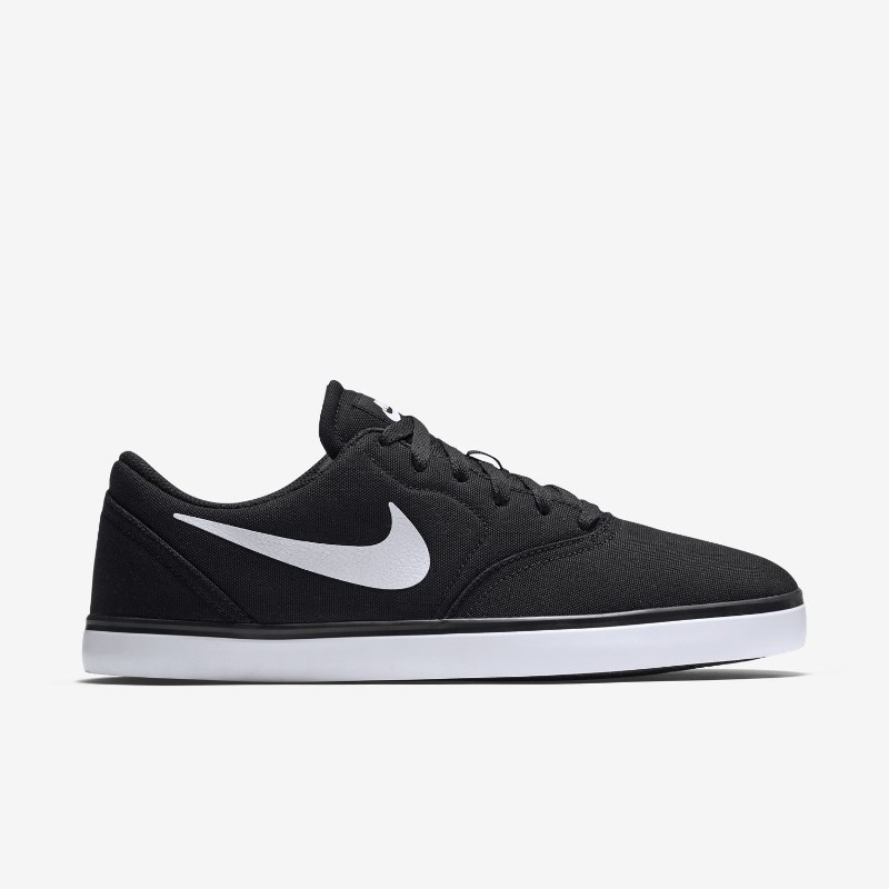 Giày Nike SB Check Canvas Nam - Đen trắng