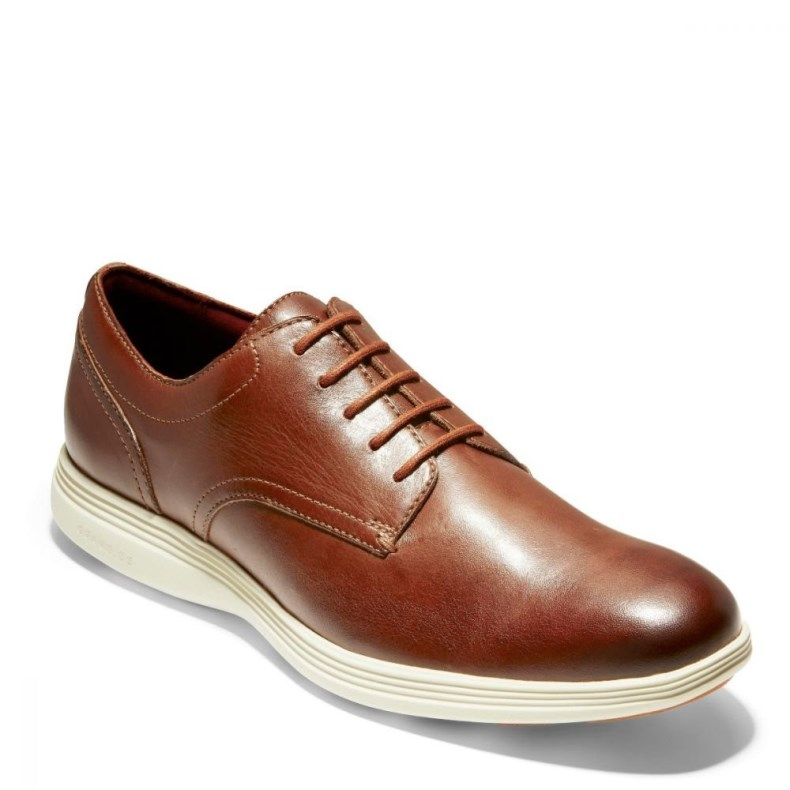Giày Cole Haan Grand Tour Plain Ox Nam Nâu