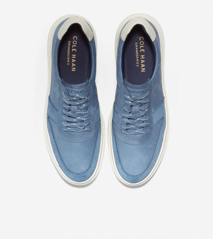 Giày Cole Haan GP RLLY Court SNKR Nam Xanh