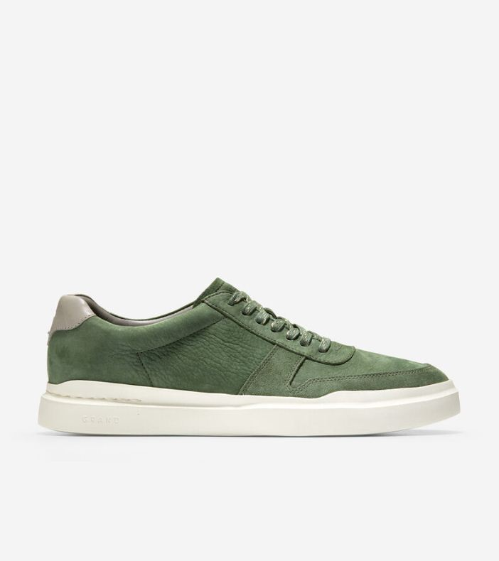 Giày Cole Haan GP RLLY Court SNKR Nam Xanh Camo
