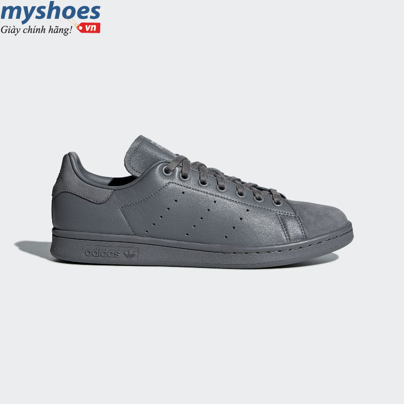 Giày adidas Stan Smith Nam - Xám