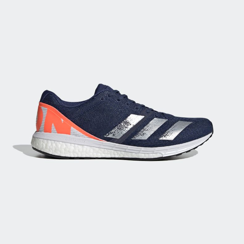 Giày adidas Adizero Boston 8 Nam - Xanh Navy