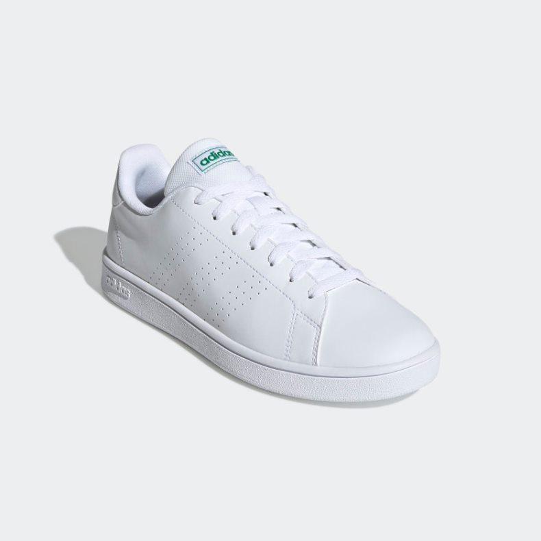 Giày adidas Advantage Base Nam - Trắng Xanh
