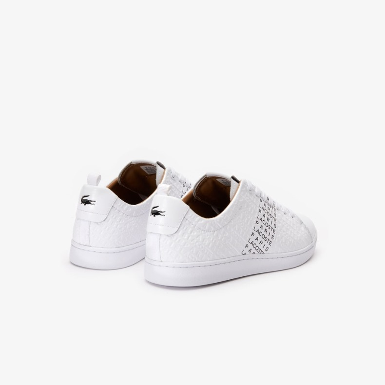 Giày Lacoste Carnaby Evo 319 - Trắng Đen