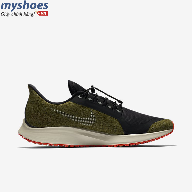 Giày Nike Air Zoom Pegasus 35 Shield Nam - Xanh Camo