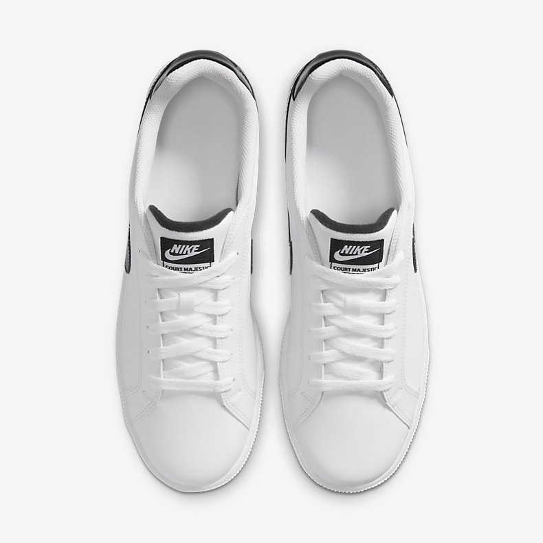 Giày Nike Court Majestic Leather Nam Trắng Đen