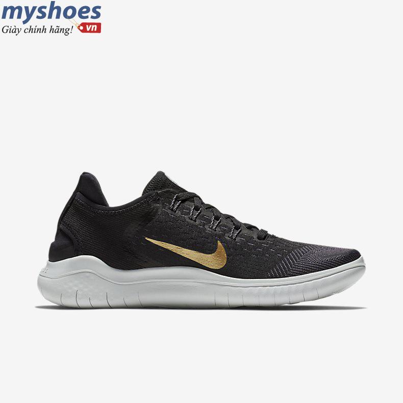   GIÀY Nike Free RN 2018 Nữ- Đen Vàng  Click and drag to move 