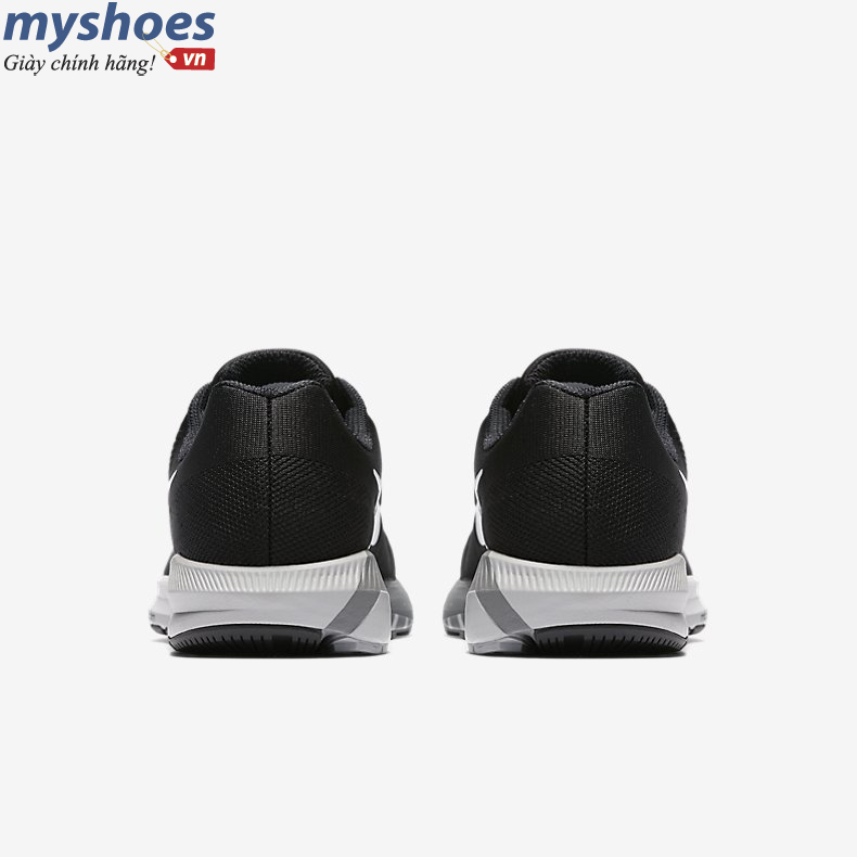 Giày Nike Air Zoom Structure 21 Nữ - Đen Trắng
