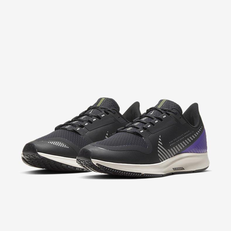 Giày Nike Air Zoom Pegasus 35 Shield Nam - Đen Tím