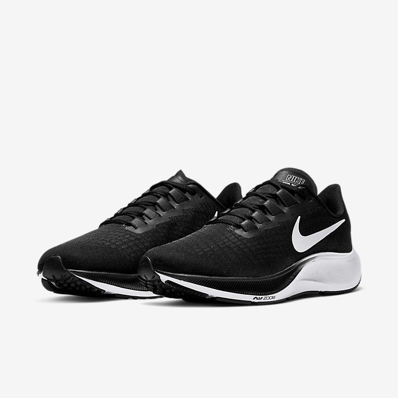 Giày Nike Air Zoom Pegasus 37 Nam - Đen Trắng