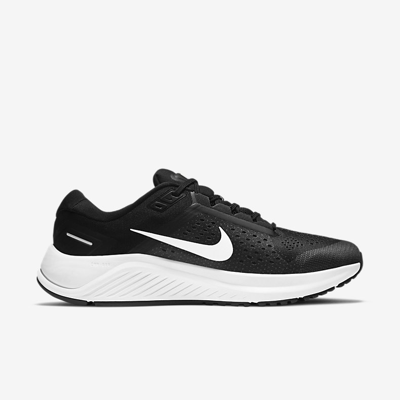 Giày Nike Air Zoom Structure 23 Nam -  Đen Trắng