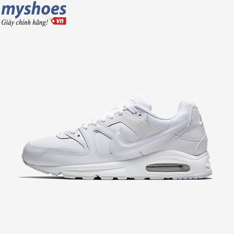 Giày Nike Air Max Command Nam - All White