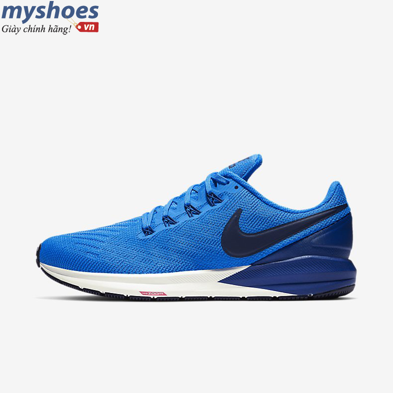 Giày Nike Air Zoom Structure 22 Nam - Xanh