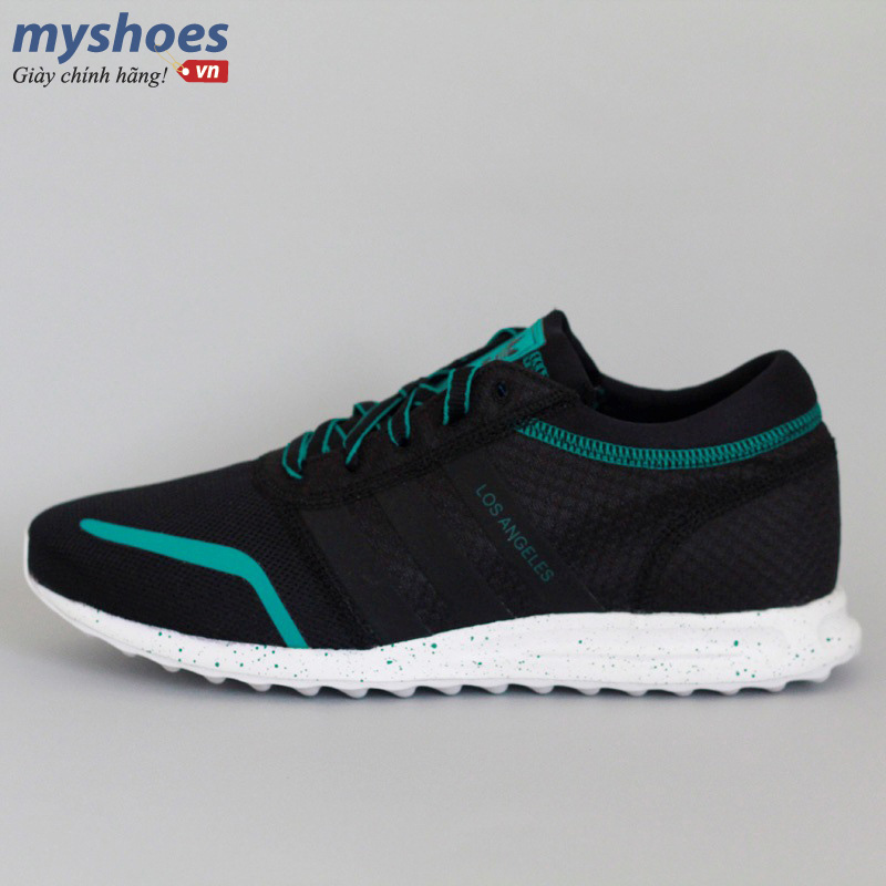 Giày adidas Los Angeles đen xanh