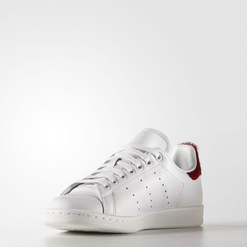 Giày nữ adidas Stan Smith trắng đỏ