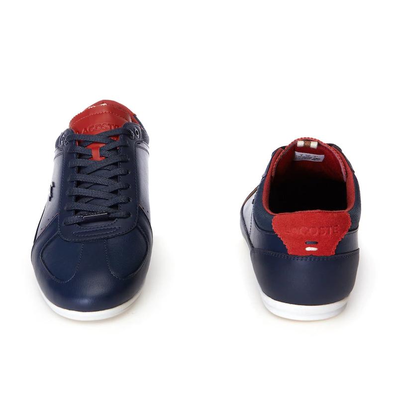 Giày Lacoste Evara - Nam Navy Đỏ