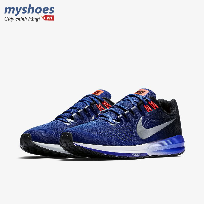 Nike Air Zoom Structure 21 - xanh navy
