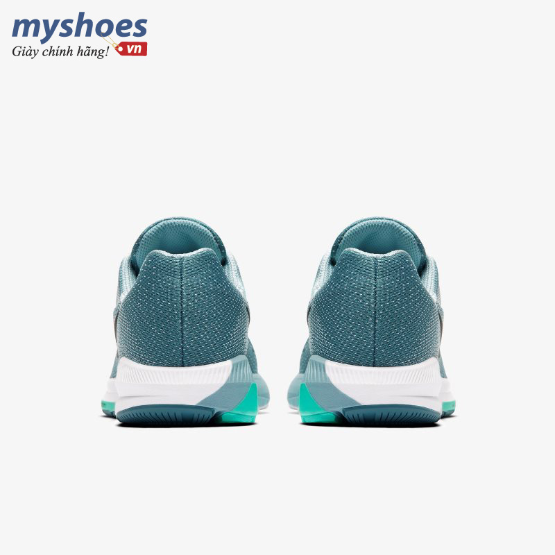 giày nike air zoom structure 20 nữ xanh ngọc