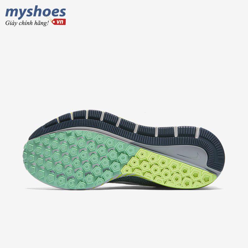 giày nike air zoom structure 20 nữ xanh rêu