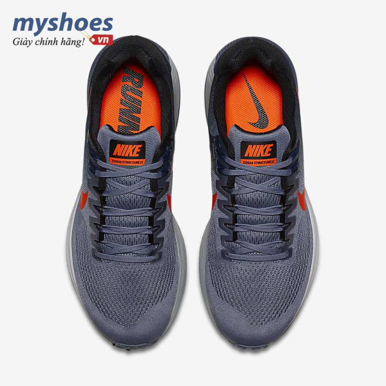 giay-nike-air-zoom-structure-21-nam-xam-xanh