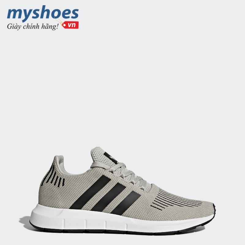 giay-adidas-Swift-Run-nam-xam-vang