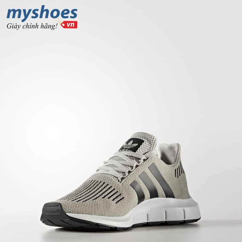 giay-adidas-Swift-Run-nam-xam-vang