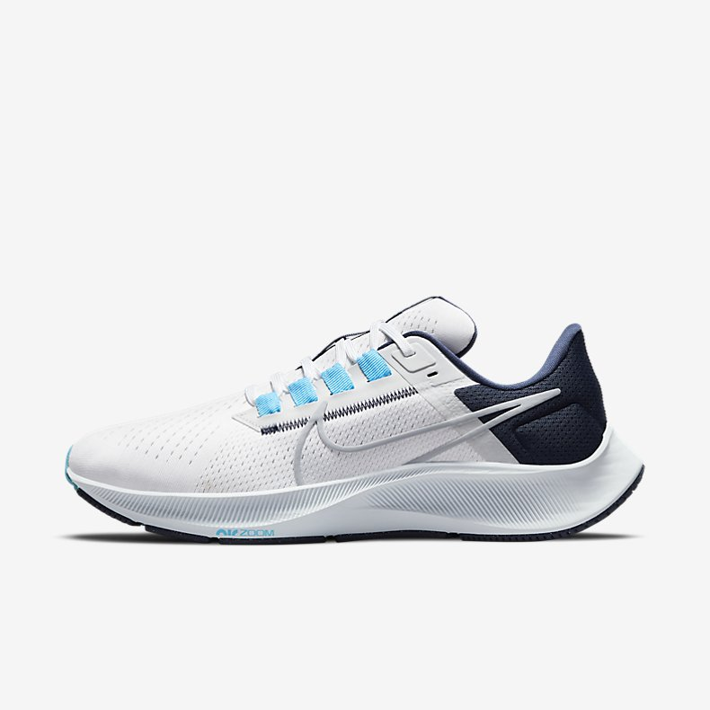 Giày Nike Air Zoom Pegasus 38 Nam - Trắng Xanh Navy