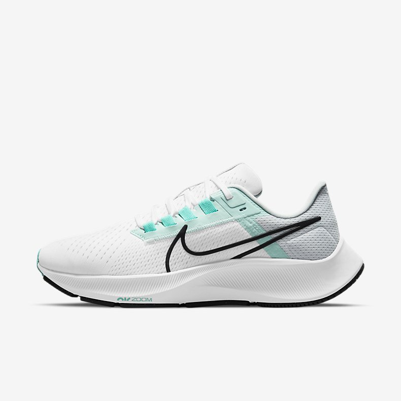Giày Nike Air Zoom Pegasus 38 Nữ - Trắng Xanh